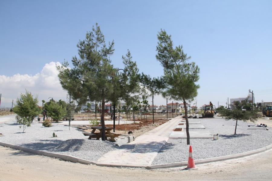Güzelyalı Mahallesi Yeşil Alan ve Rekreasyon Alanı